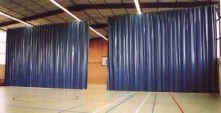 Штора завеса из ткани ПВХ Китай 500 г/м2