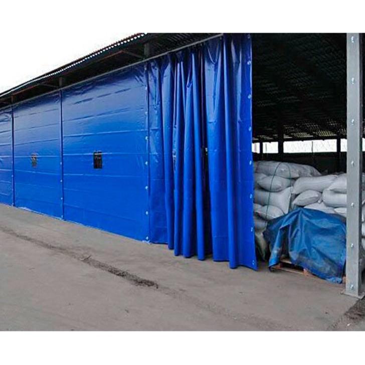 Завеса 4 х 8 м из пвх ( утепленная )